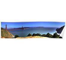 Golden Gate Bridge Panorama Poster