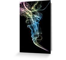 Smoke Art 19 Greeting Card