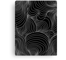 indie waves design Canvas Print