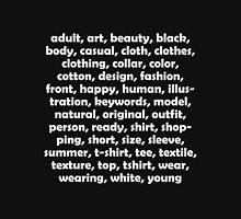 """Keywords Tee"" For Online Stock Photographers Unisex T-Shirt"