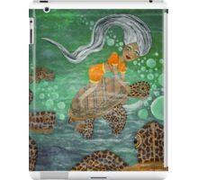 Anita Turtle Rider iPad Case/Skin