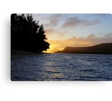 Nguna Sunrise HDR Canvas Print