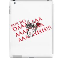 Rabbid Dragonborn iPad Case/Skin