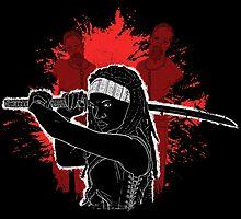 The samurai by Paula García