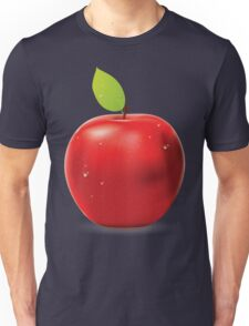 Fresh red apple Unisex T-Shirt