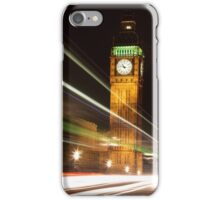 Big Ben at night iPhone Case/Skin