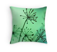 firing neurons Throw Pillow