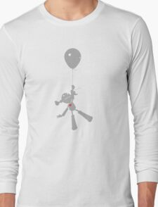 Zoe takes a ride. Long Sleeve T-Shirt