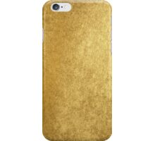 Elegant chic gold texture iPhone Case/Skin