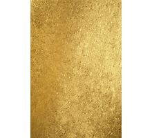 Elegant chic gold texture Photographic Print