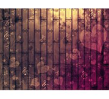 Abstract wood texture Photographic Print