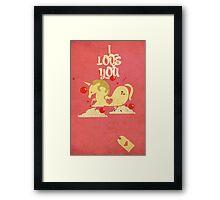 Unicorn! Framed Print