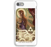The High Priestess - Zelda Tarot iPhone Case/Skin
