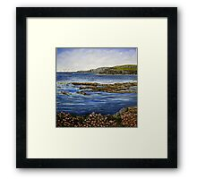 """Kilkee Cliffs - County Clare"" Framed Print"