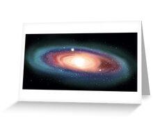 Galactic Neighbor Greeting Card