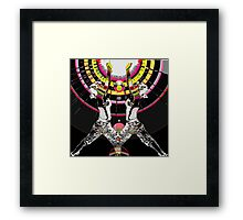 chakra yoga Framed Print
