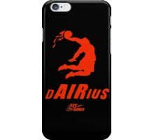 Darius get dunked red iPhone Case/Skin