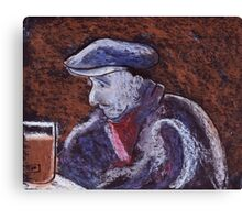 Man at the bar Canvas Print