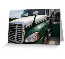 """Freightliner """"Cascadia"""" Greeting Card"""