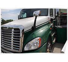 "Freightliner ""Cascadia"" Poster"
