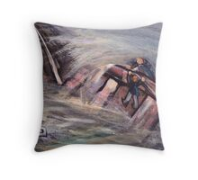 Hold on dad Throw Pillow