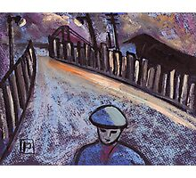 Road to the coal mine Photographic Print