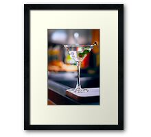 Tall Martini  Framed Print