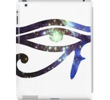 Kid Cudi Galaxy [Blue] | Eye of Ra [Eye of Horus] iPad Case/Skin