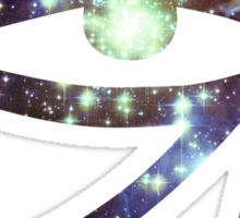 Kid Cudi Galaxy [Blue] | Eye of Ra [Eye of Horus] Sticker