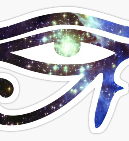 Kid Cudi Galaxy [Blue] | Eye of Ra [Eye of Horus] Sticker