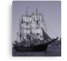 Barque James Craig - Sydney Harbour Australia Canvas Print