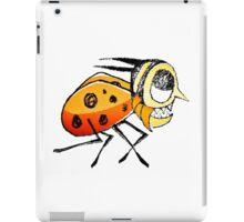 Funny Bug Running Hand Drawn Illustration iPad Case/Skin