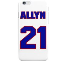 National baseball player Allyn Stout jersey 21 iPhone Case/Skin