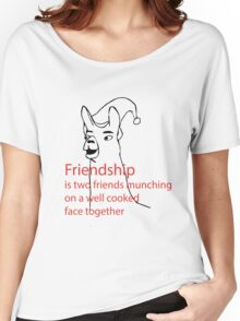 Llamas with hats - friendship Women's Relaxed Fit T-Shirt