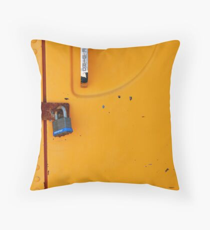 No Entry Throw Pillow