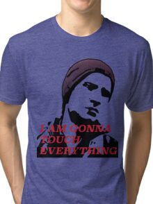 Delsin touch everything Tri-blend T-Shirt
