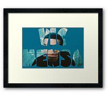 Vic Mensa Innanetape Framed Print