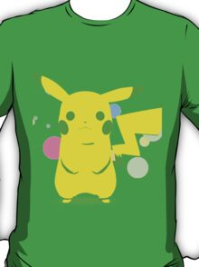 Pokemon - Green Pikachu T-Shirt
