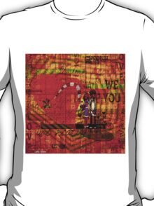 Your first name is the secret code of my heart. T-Shirt