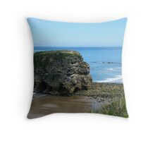 The Immovable Rock Throw Pillow