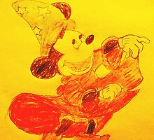 Mickey Mouse by SeraphineA