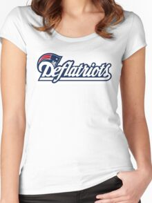 New England Deflatriots Women's Fitted Scoop T-Shirt