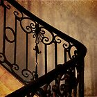 Parisian Stair by rosiemaddra