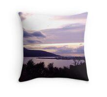Ullapool As The Sun Sets Throw Pillow