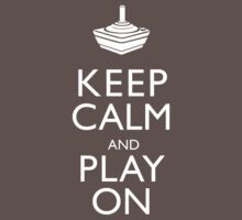 Keep Calm And Play On One Piece - Short Sleeve