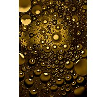 Abstract with bubbles Photographic Print