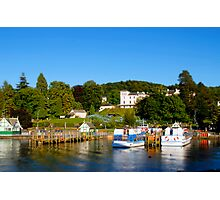 Bowness on Windermere (Toytown 2) Photographic Print