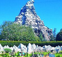 Matterhorn Mountain by disneyfied