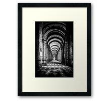 Monumental Graveyard, Ravenna (Italy) Framed Print