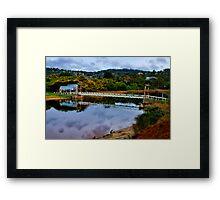 """""""The Erskine Estuary"""" Framed Print"""